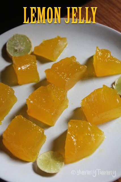 YUMMY TUMMY: Lemon Jelly Recipe - Fresh Lemon Jelly Recipe
