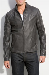 Lovely Armani leather jacket~~