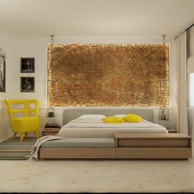 Eclectische slaapkamers van интерьер