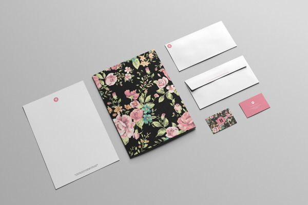 Chenda-Linda-Noun  - Kop Surat Desain Elegan