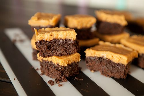 Chocolate Spinach Brownies with Peanut Butter FrostingIMG_4702 by brooklynfarmgirl, via Flickr