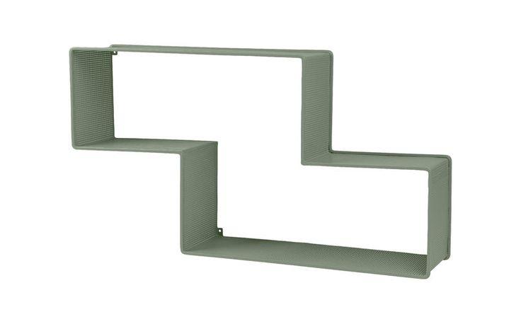 GUBI // Dedal shelf in dusty green by Mathieu Matégot