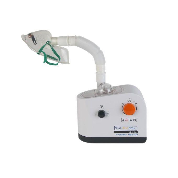 Home Mist Ultra GNC-02  Ultrasonik nebülizatör cihazları, sıvıların ses dalgalarıyla buhar haline getirilmesini sağlayan cihazlardır. Bu şekilde sıvılar veya ilaçlar solunum yolu ile alınabilir. Home Mist Ultra GNC-02 ultrasonik nebülizatör cihazı bu amaç için üretilmiştir.  Garanti süresi: 2 yıl Çalışma sistemi: Ultrasonik Kolay taşınabilir Su veya ilacı buhar haline getirir Oda nemlendirme özelliği vardır