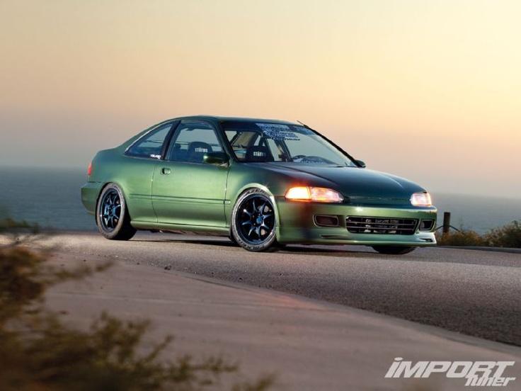 1995 Honda Civic EX   Import Tuner Magazine
