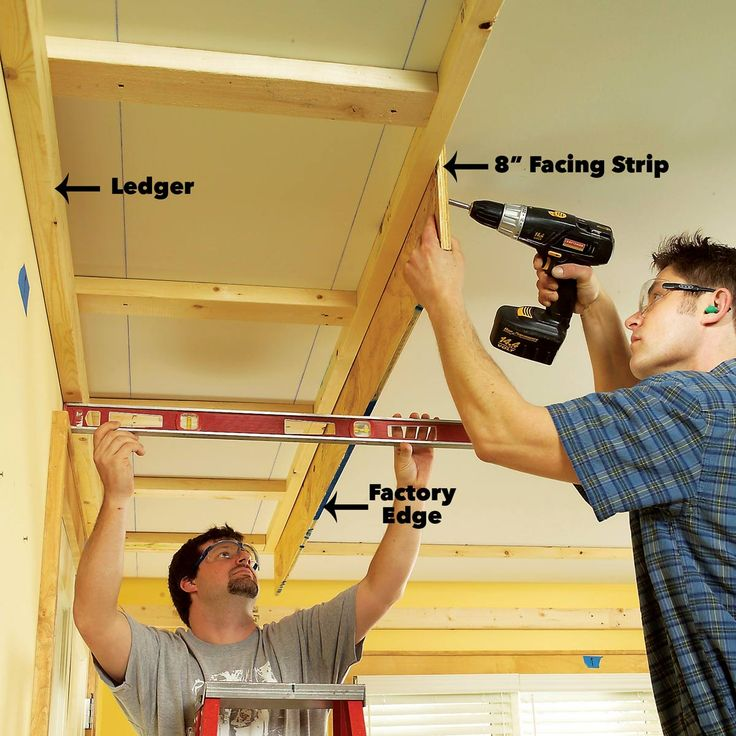 How to Build a Soffit Box with Recessed Lighting in 2020 ...