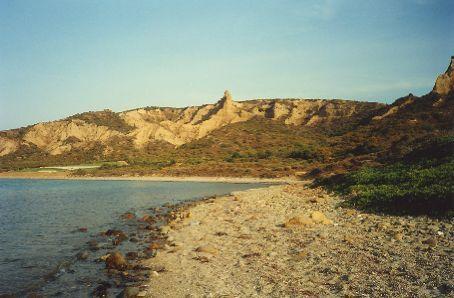 ANZAC cove, Gallipoli, Turkey. Major part of Australian history.