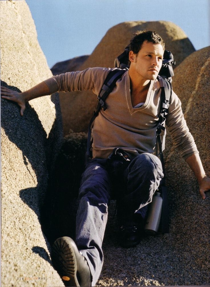 Justin chambers hikes? marry me.
