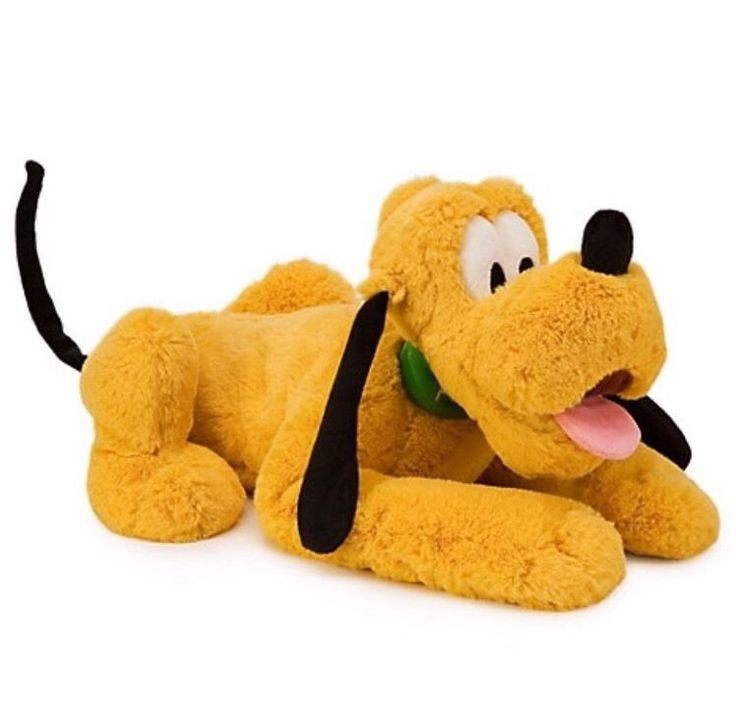 "Authentic Disney Store Pluto Dog Big Stuffed Animal Plush 17"" Soft Gift NWT | Toys & Hobbies, Stuffed Animals, Disney | eBay!"