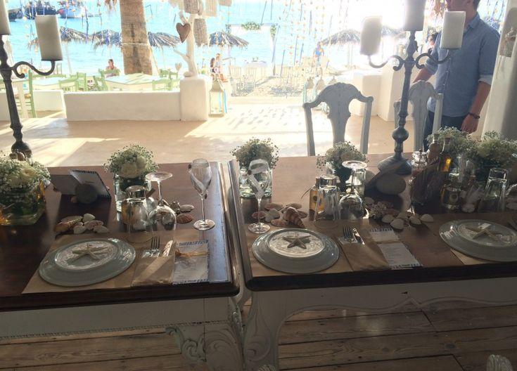 Beach Wedding Venue in Naxos