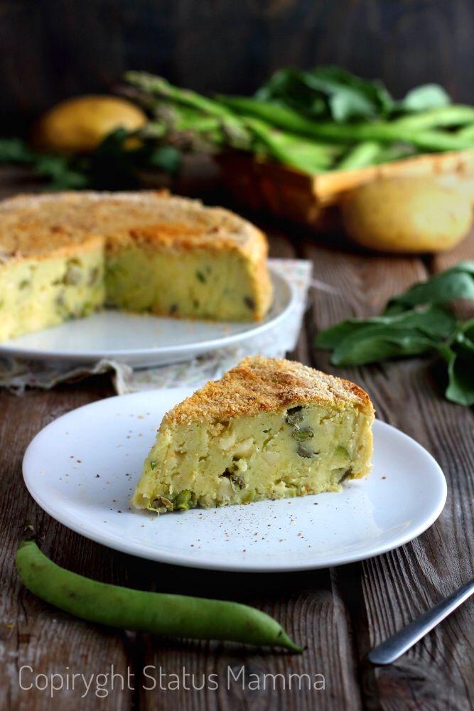 Come preparare un gustoso Gattò di patate rivisitato vegetariano con fave e asparagi