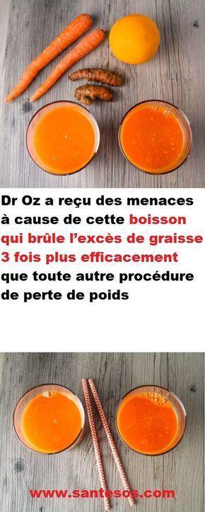 Dr Oz A Recu Des Menaces A Cause De Cette Boisson Qui Brule L Exces