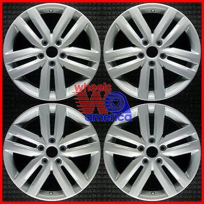 Set 2012 2013 2014 Volkswagen Vw Jetta Factory 5c0601025k Wheels Rims 69940 #car #truck #parts #wheels, #tires #other #aly69940u20