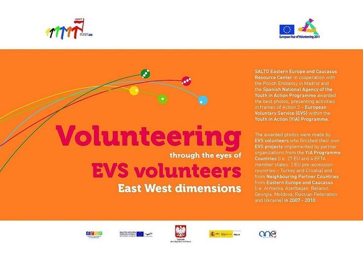 SALTO. Volunteering through the eyes of EVS volunteers East West dimensions