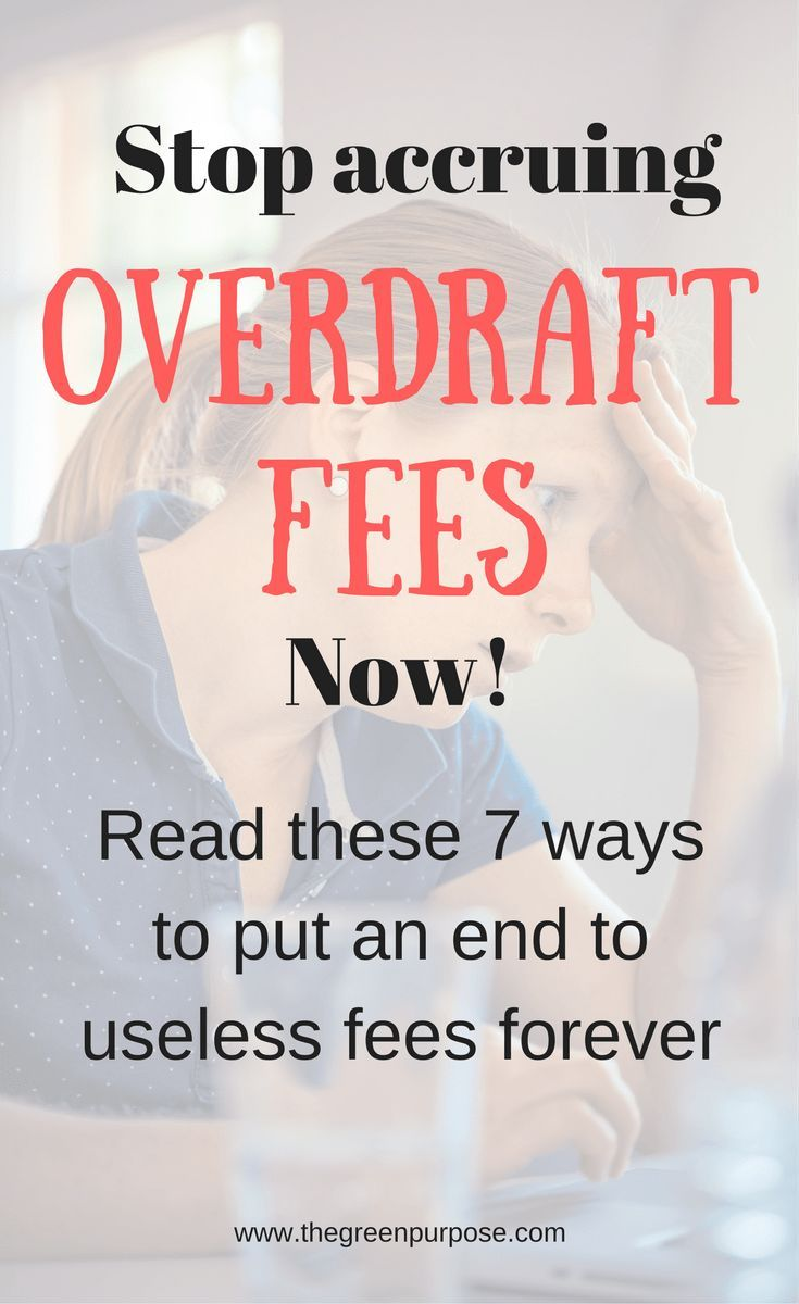 Are Overdraft Fees Holding You Back Learn How To Avoid Them For Good Finance Saving Personal Finance Budgeting