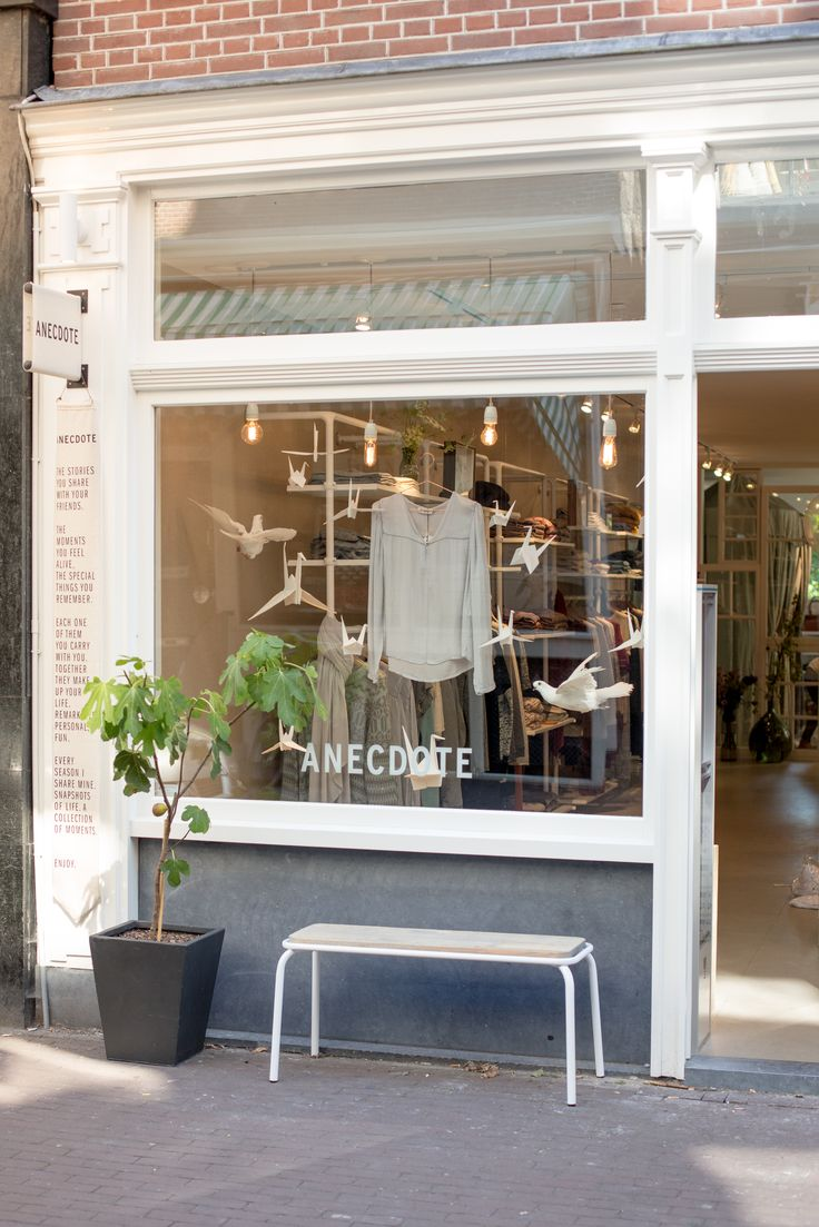 Come and visit the first Anecdote boutique, Wolvenstraat 15 Amsterdam
