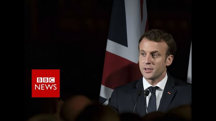 FULL INTERVIEW: French President Emmanuel Macron on Brexit and Trump   ***********  02/09/2018 @ Gerald's -BL