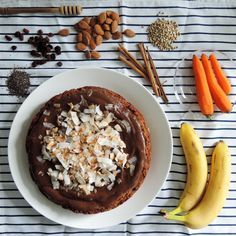 Mrkvový dort (bez lepku, vajec, mléka)