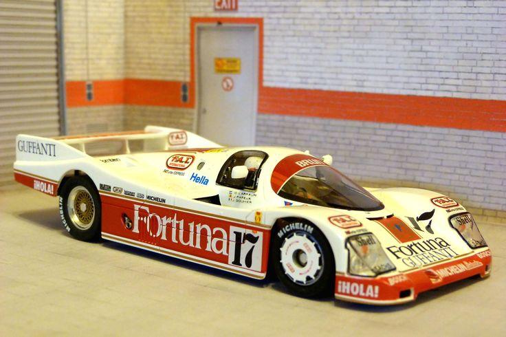 Porsche IMSA; Nissan R89C, R90V, R90CK, R91CV; Porsche C 85; Toyota 86C; KIT EU ; GT/LM.Audi R8C; Nissan R GT1; McLaren F1 GTR; Audi R8C (2.edice) Nissan R GT1 LT; Ferrari F40; Lola LMP; Porsche GT1 Evo98; Audi R18 TDI; Audi R18 e-tron quattro; Lola Aston Martin DBR; Audi R8 LMP; Lola B12/80; Audi R18 ultra.