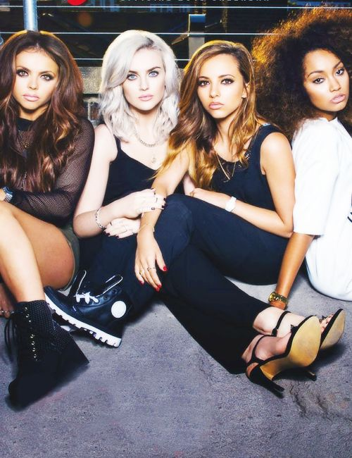 Little mix!! They are so beautiful and talented!