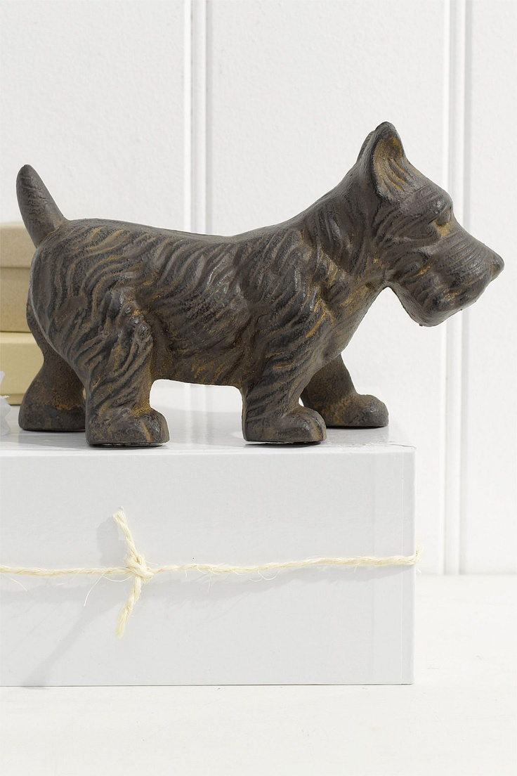 Vintage original hubley fox terrier 381 full figured large art statue - Door Stops Dog Decor Statue Ezibuy Australia