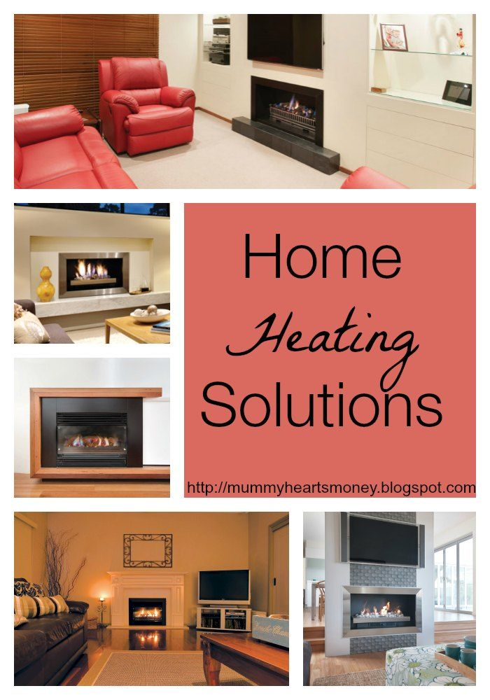 Looking for attractive home heating solutions for our home this winter!