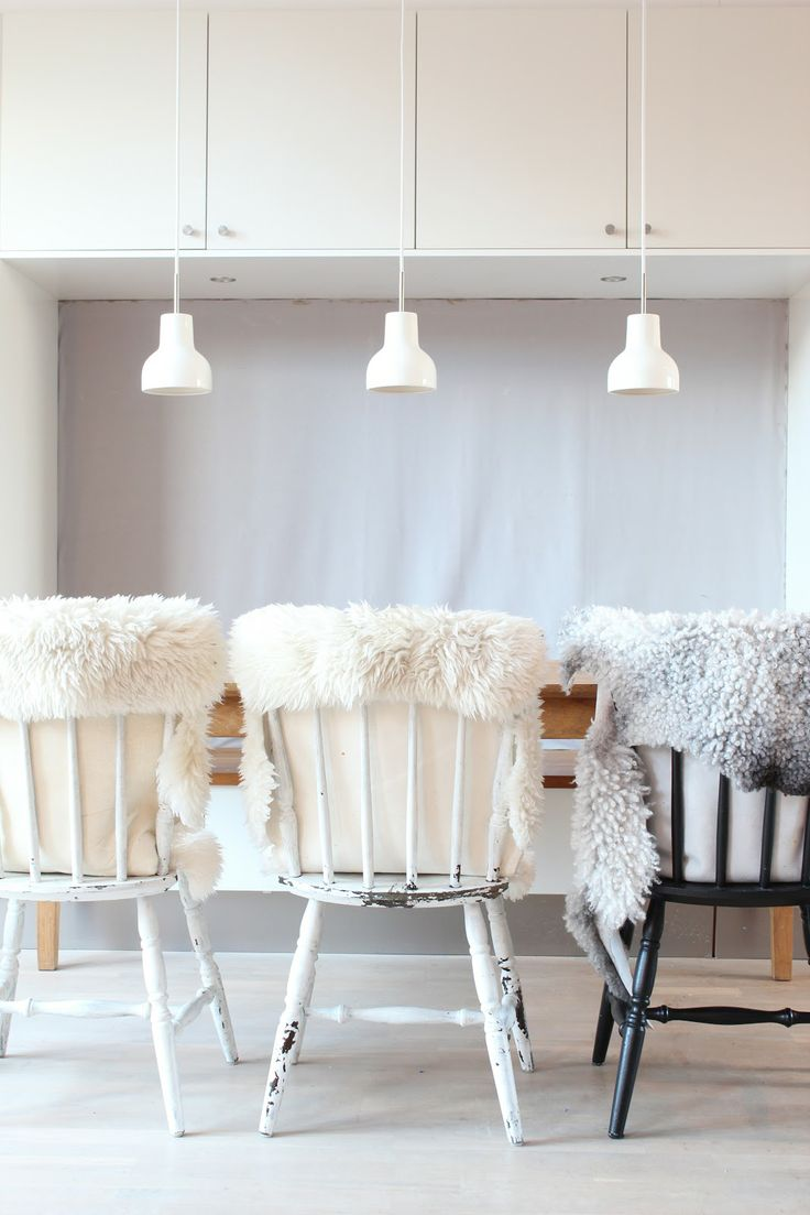 cozy accents in a modern space