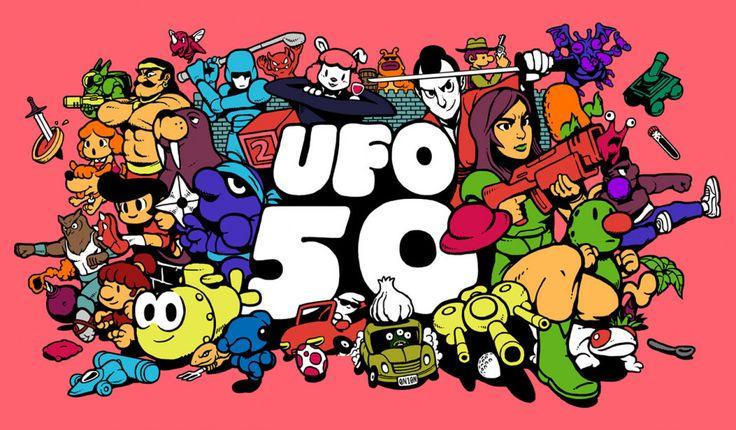 UFO 50 é um pacotão com 50 indie games retrô, dos produtores de Spelunky, Downwell e outros games de sucesso!