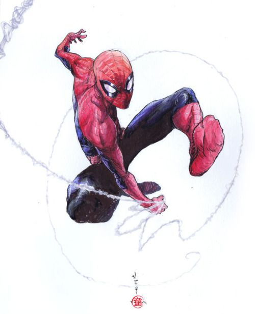 Spidey Swings - Andie Tong