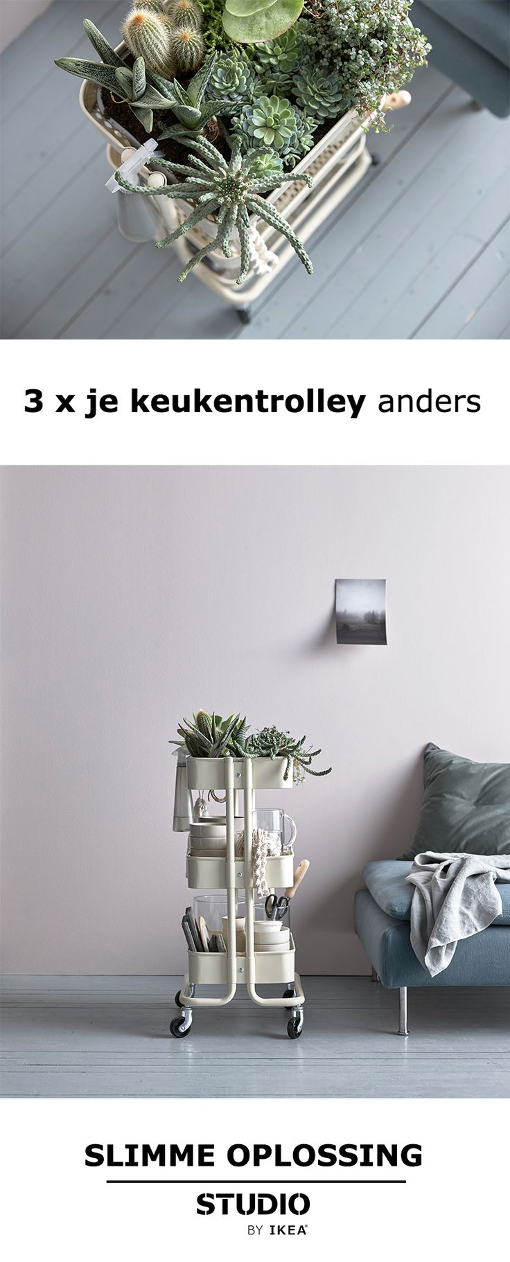 Ikea Badkamer Trolley ~   IKEA RASKOG on Pinterest  Utility cart, Ikea raskog and Ikea cart