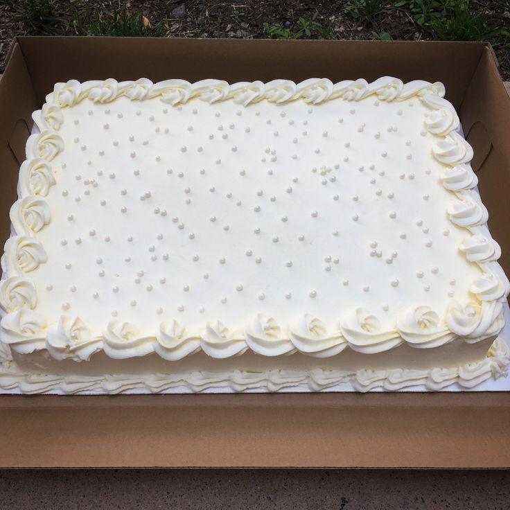 Buttercream sheet wedding cake wedding sheet cakes