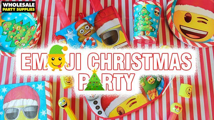 Emoji Christmas Party Ideas