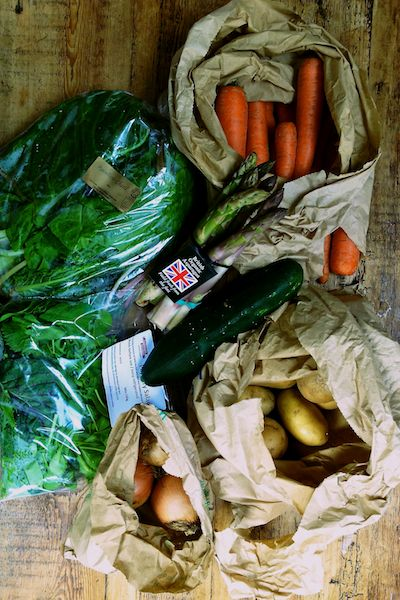 Edible Ealing veg box scheme