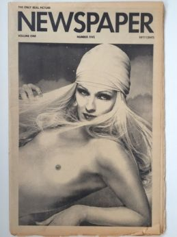 Picture Newspaper 1975 Steve Lawrence and Manuel Sanchez, Jerry Hall an Antonio Lopez