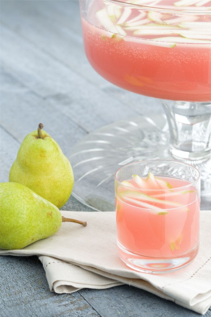 Sparkling Pear-Prosecco Punch http://www.delish.com/cooking/recipe-ideas/recipes/a44182/sparkling-pear-prosecco-punch-recipe/