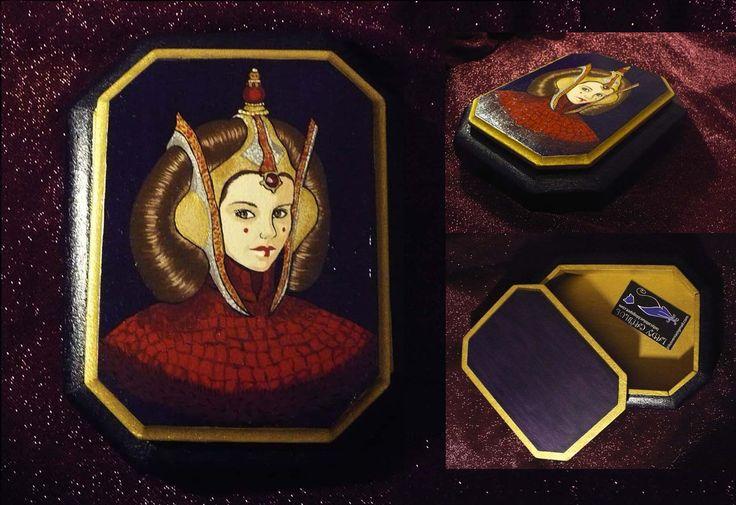Caja reina Amidala 18,5x14,5 cm.