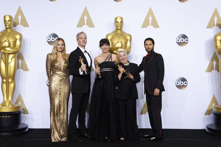 Margot Robbie, Lesley Vanderwalt, Elka Wardega, Damian Martin and Jared Leto | 88th Academy Awards