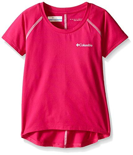 Camp Clothing - Columbia Sportswear Girls Silver Ridge Short Sleeve Tee ** Click image to review more details.