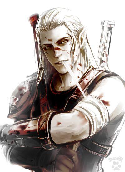 Adrian, Alto-elfo florestal, Guardião das Armas dos Herossarins e professor de Casimyr nos cursos avançados.