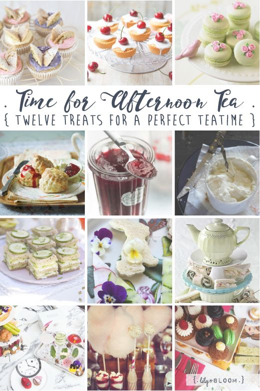 lily&Bloom . time for tea . { twelve treats for a perfect teatime } . perfect ways to celebrate Afternoon Tea Week .