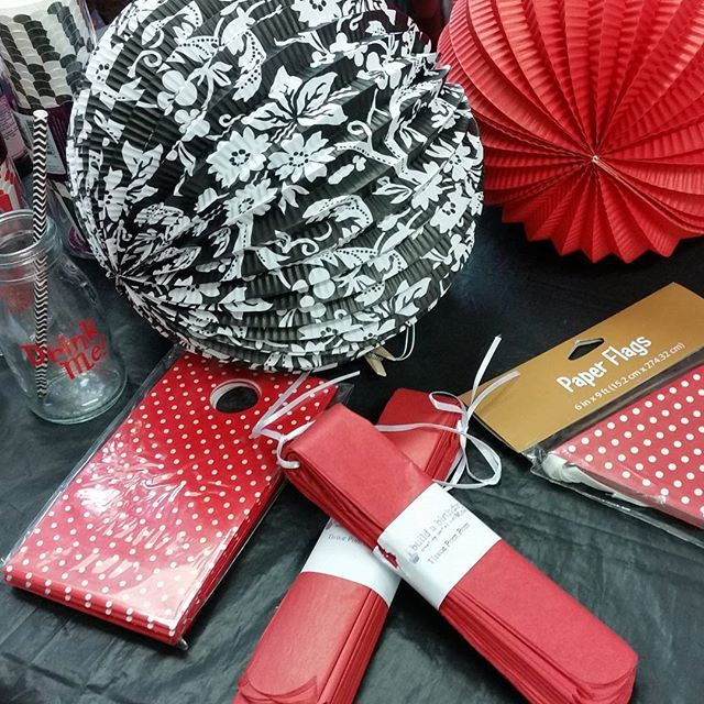 Black and red party anyone?    As seen in our New Plymouth store.    #buildabirthday #partyshop #partystorenewplymouth #partystorewellington #redandblackparty