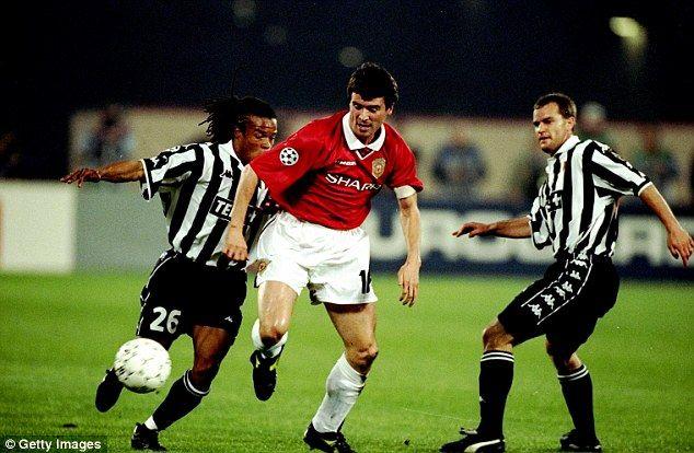 Roy Keane bossed it in Turin, April 1999