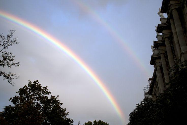 Duplát láttunk! #rainbow #szivarvany #vienna #becs #town #double