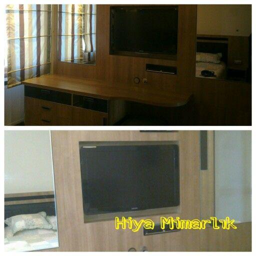 Yatak odası tv ünitesi #hiyamimarlik