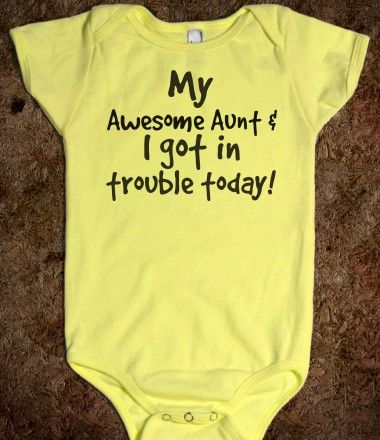 Any of Baby's Aunts will need this!