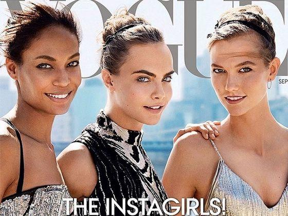 Les couvertures des magazines de mode vogue