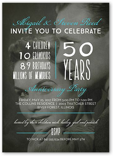 Anniversary Invitations Paper Daisy Diamond Wedding Anniversary