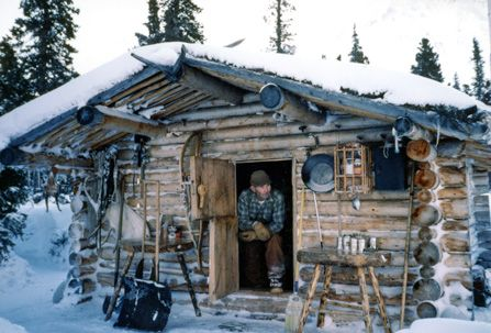 "Dick Proenneke - lived alone for thirty years in the Alaskan wilderness - His documentary, ""Alone in the Wilderness,"" is one of my favorites."
