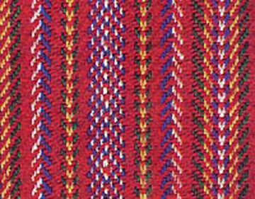 The Métis or L'Assomption Sash became the most recognizable part of Métis dress and a symbol of their people.