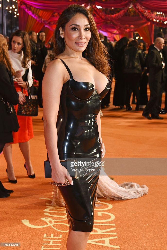 Sofia Hayat attends The Royal Film Performance and World Premiere of 'The Second Best Exotic Marigold Hotel' at Odeon Leicester Square on February 17, 2015 in London, England.