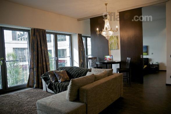 Berlin Luxus Apartment in Berlin Mitte Wohnzimmer
